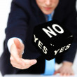 Stock Photo: Dice as symbol of risk and luck