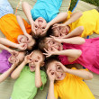 Group of children in the park — Stock Photo #9902292