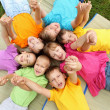 Group of children in the park — Stock Photo