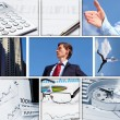 Business collage of some business pictures — Stock Photo #9964890