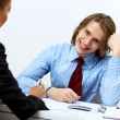 Business meeting in office — Stock Photo #9966693