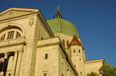 St. Joseph Oratory in Montreal — Stock Photo