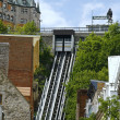 Quebec city and it's funicular — Stock Photo