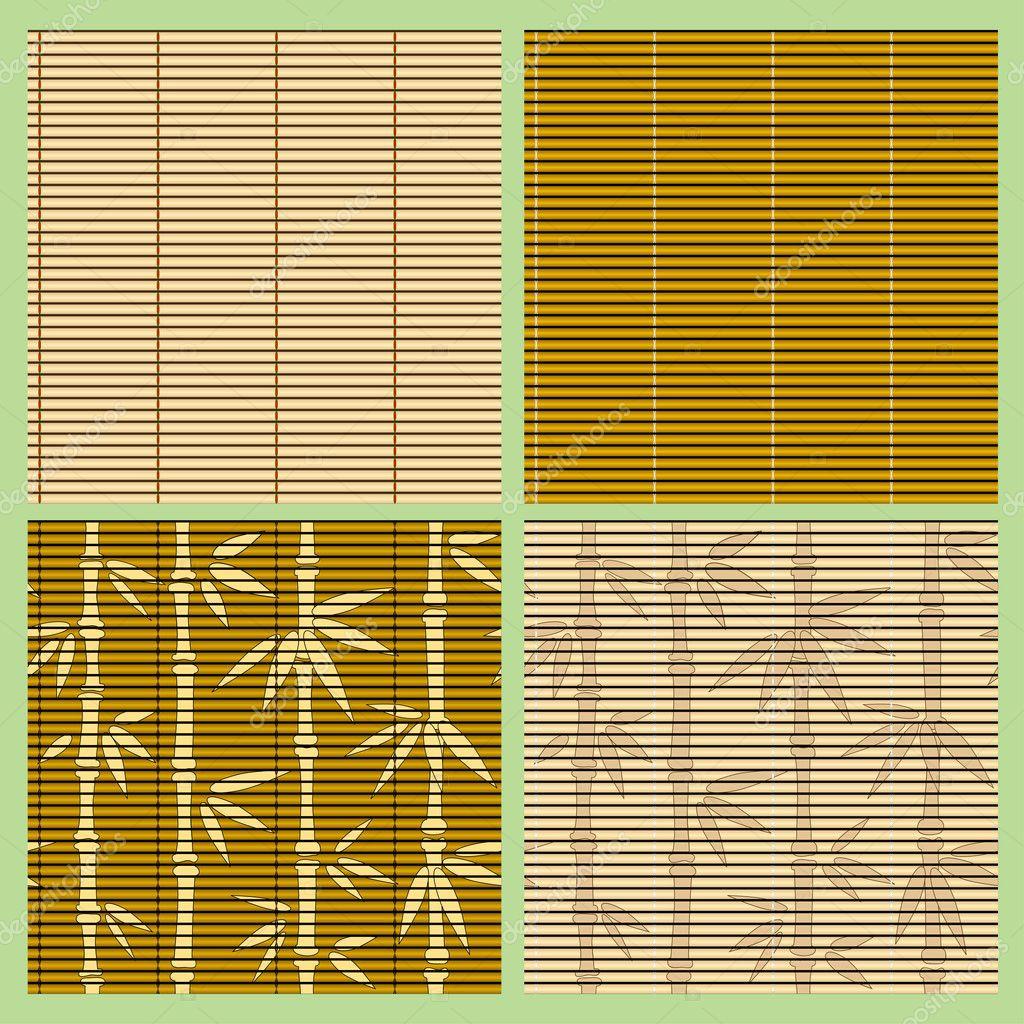 Seamless Bamboo Pattern Seamless Bamboo Patterns