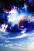 Utrymme sky — Stockfoto