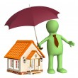 Home insurance — Stock Photo #8761612