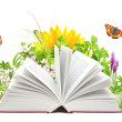Book of nature - Foto Stock