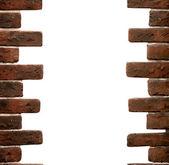 Frame of old bricks — Stock Photo
