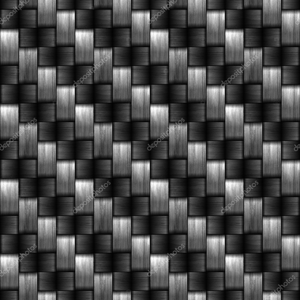 Seamless  carbon fiber illustrated background — Stock Photo #9611982