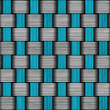 Stock Photo: Carbon fiber wowen texture