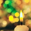 Candle. — Stock Photo