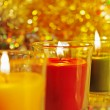 Royalty-Free Stock Photo: Candles  with fire.
