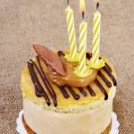 Birthday cupcake. — Stock Photo #10147904