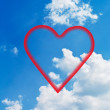 Clouds and hearts. — Stock Photo #10260439