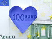 Metal form and euro. — Stock fotografie