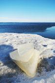 Piece of ice. — Stock Photo