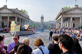 Bergamo in a spring. — Stock Photo