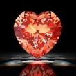 Diamond heart — Stock Photo #7987326