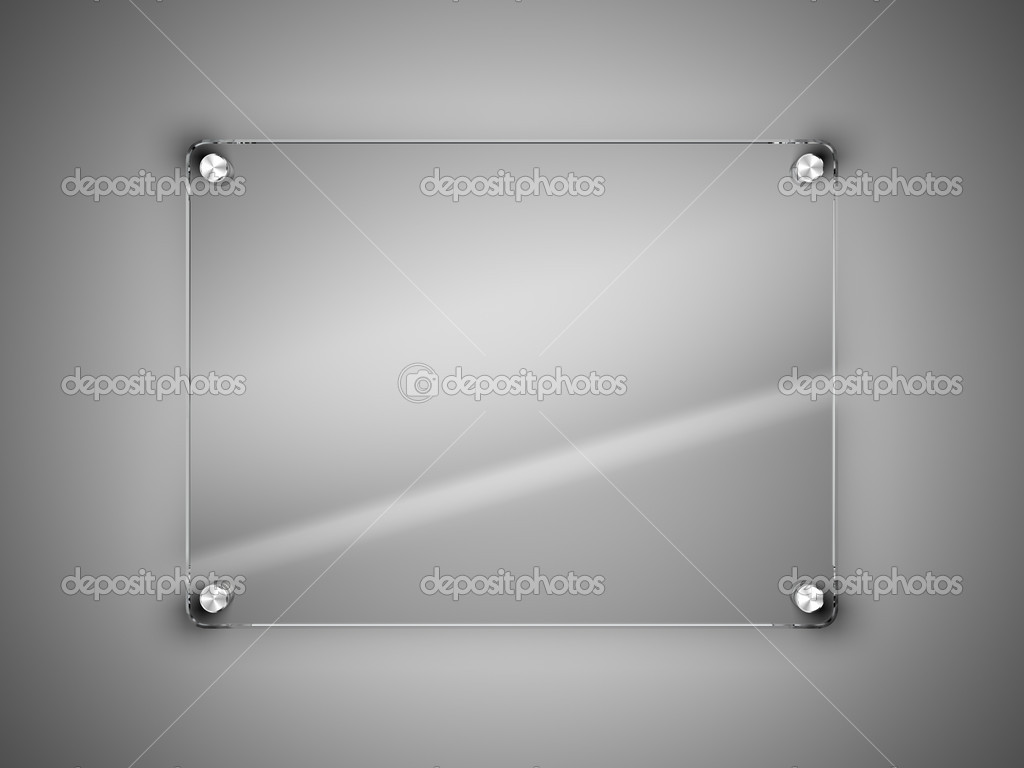 Poster frame without glass