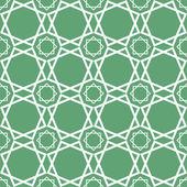 Sin costura tradicional geométrico ornamento islámica - girih, vector — Vector de stock