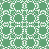 Seamless traditional geometrical islamic ornament - girih,vector — Stock Vector