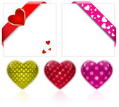 Valentine's Day. Hearts Collection — Stock Vector