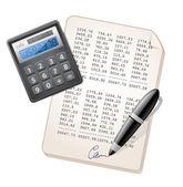 Financial Report — Stock Vector