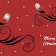 Royalty-Free Stock Imagen vectorial: Greeting card - Merry Christmas