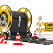 Road works — Stockfoto #10475633