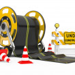 Road works — Stock Photo #10614195