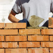 Bricklayer — Stock Photo #8223380