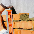 Bricklayer — Stock Photo #8968788