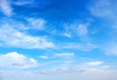 Blue sky background — Stockfoto