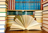 Education books — Stock Photo