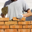 Bricklayer — Stock Photo #9421688