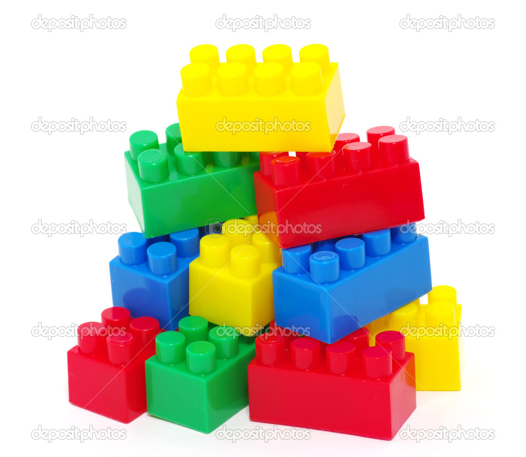Bloques de juguete de pl stico fotos de stock ale ks for Juguetes de plastico