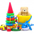 Toys collection — Stock Photo #9680297