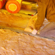 Stock Photo: Glass wool