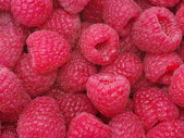 Raspberry background — Stock Photo