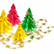 Christmas trees — Foto de stock #8322852