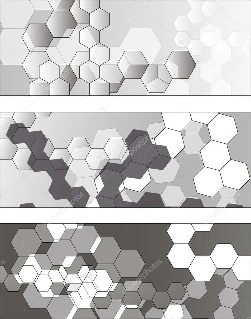Molecule background  Stock Vector #8397448