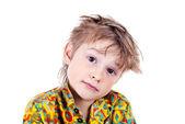 Portrait of an adorable young preschool boy — Zdjęcie stockowe