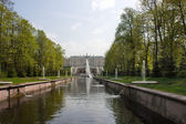 Channel in lower park — Stock Photo