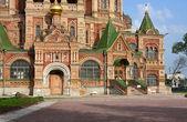 Fragment of the church — Стоковое фото