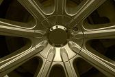 Wheel car — Stock Photo