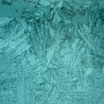 Frost on window — Stock Photo #9850625
