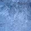Frost on window — Photo