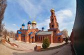 Russian orthodox church in Samara, Russia — Stock Photo