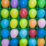Multicolored balloons — Stock Photo #10453835