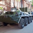 Armoured troop-carrier wheeled — Stock Photo